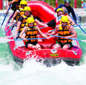 River Rush <br><small>Advanced Course</small>