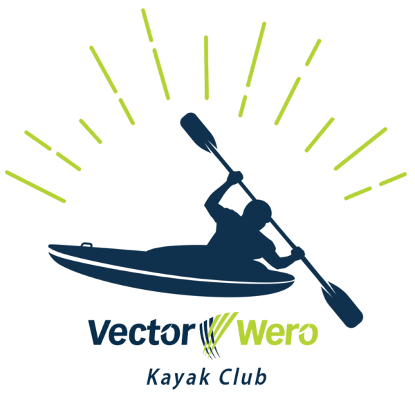 Vector Wero Kayak Club Icon Logo